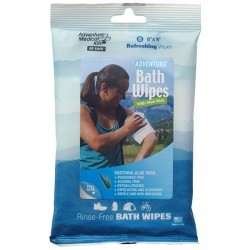 Lingettes Bath Wipes 8x5 Adventure Medical Kits - 1