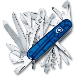 Couteau suisse Champ Bleu Transparent Victorinox 91mm - 1