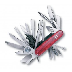 Couteau suisse Champ XLT Rouge Transparent Victorinox 91mm - 1