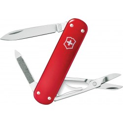 Couteau suisse Money Clip Rouge Alox Victorinox 74mm - 1