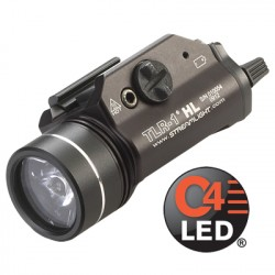Lampe tactique Streamlight TLR-1 HL - Led blanche High Lumens - Strob - 1