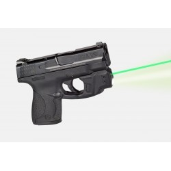 Lampe/Laser tactique (vert) LaserMax GripSense pour Smith & Wesson M&P - 1