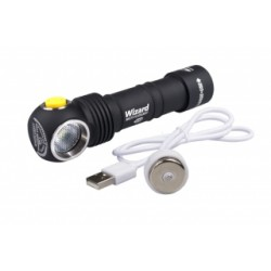 Lampe Multi-Usages Armytek Wizard Magnet USB - 1