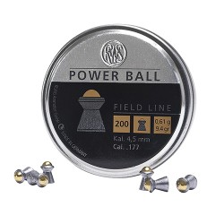 200 Plombs Power Ball Calibre 4.5mm (.177) - RWS - 1