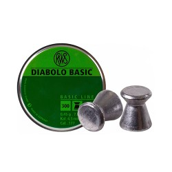 300 Plombs RWS Diabolo Calibre 4.5mm - 7gr - 1