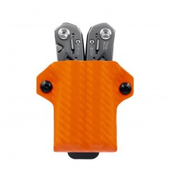 Etui pour pince Suspension Gerber CLIP-&-CARRY carbone Orange - 2