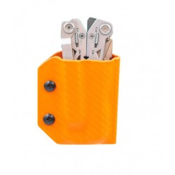 Etui pour pince Suspension NXT Gerber CLIP-&-CARRY orange carbone - 2