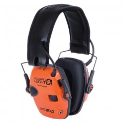 Casque d'amplification et de protection auditive Impact Sport BOLT HOWARD orange - 1